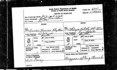Marriage for Oscar Blythe and Thirza McKim This is my transcription of the marriage record for Oscar Thomas Blythe and Thirza Estelle McKim of August 1930 in Butte Marriage Records, Trials And Tribulations, My Family History, Genealogy Research, Family Search, Transcription, Family Photos, Empty, Nest