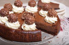 Ferrero Rocher taart - Keuken♥Liefde