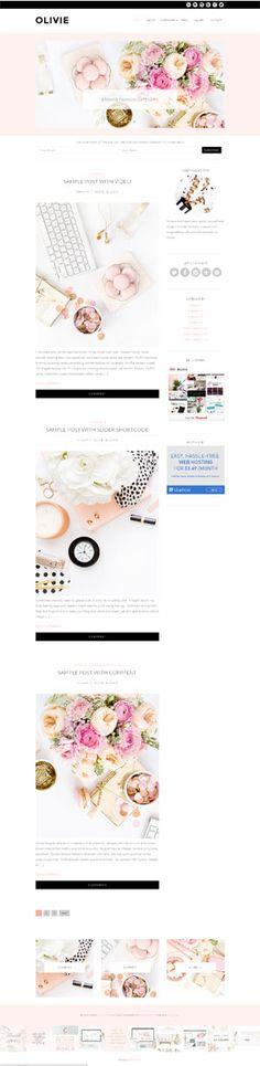 Feminine WordPress themes gallery