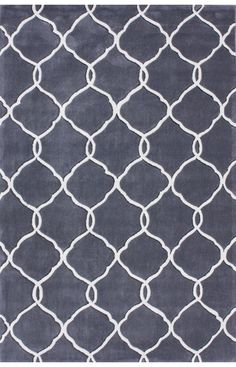 Rugs USA Keno Linked Trellis Slate Rug now 75% off