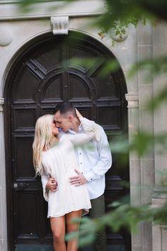 morton arboretum wedding photographer – intimate kiss