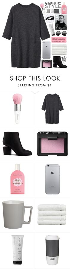"""my mama don't like you and she likes everyone"" by randomn3ss ❤ liked on Polyvore featuring Guerlain, Toast, Alexander Wang, NARS Cosmetics, Crabtree & Evelyn, The Row, CB2, Linum Home Textiles, St. Tropez and ROOM COPENHAGEN"
