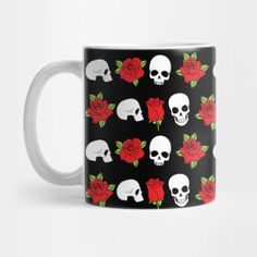 Day of the Dead Red Roses Skulls Gothic Print - Day Of The Dead - T-Shirt | TeePublic. Day of the Dead Red Roses Skulls Gothic Artwork. Remembrance and prayers on Dia de Muertos with this beautiful skulls and red roses design. Share Dia de los Muertos with friends and family. (ad) Gothic Artwork, Day Of The Dead, Red Roses, Skulls, Festive, Prayers, Friends, Shirt, Beautiful