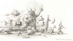 Shaun Tan – The Bird King and Other Sketches