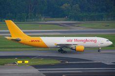 Air Hongkong Airbus A300-600F; B-LDG@SIN;07.08.2011/617am