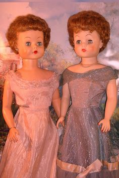 "1950's 25"" Grocery Store Dolls by Deluxe Reading by Madigan's Dolls, via Flickr"