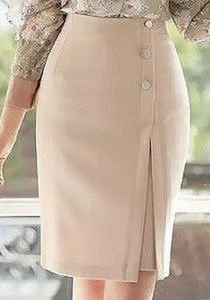 Swans Style is the top online fashion store for women. Shop sexy club dresses, jeans, shoes, bodysuits, skirts and more. Blouse And Skirt, Dress Skirt, Work Fashion, Fashion Outfits, Fashion Design, Fitness Video, Latest African Fashion Dresses, Skirt Patterns Sewing, Cute Skirts