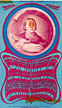 10/ 20-21/ 1967 ...... Grande Ballroom ... Detroit  ..... MC5 .... Pack ...  Gold .... Our Mother's Children ... Gang ... Billy & The Sunshine ..... artist ..... GARY GRIMSHAW