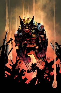 #Wolverine #Fan #Art. (Wolverine #300 cover) By: Adam Kubert. (THE * 5 * STÅR * ÅWARD * OF * MAJOR ÅWESOMENESS!!!™) ÅÅÅ+