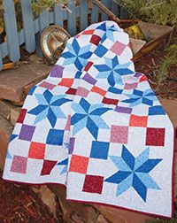 Star Light, Star Bright Pattern Download from QuiltandSewShop.com