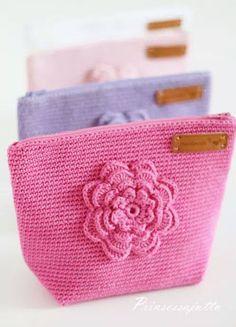 Galería: Estuches a Crochet | CTejidas [Crochet y Dos Agujas]