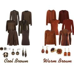 Cool and Warm Brown