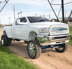 """Lifted Trucks Bigger Than Godzilla, They Are Cooler Than You Thought! If you' were to define the phrase """"truck"""" in one word, what might it be? Dodge Dually, Dually Trucks, Dodge Trucks, Pickup Trucks, Lifted Cummins, Lifted Dodge, Chevrolet Trucks, Chevrolet Impala, Jacked Up Chevy"""