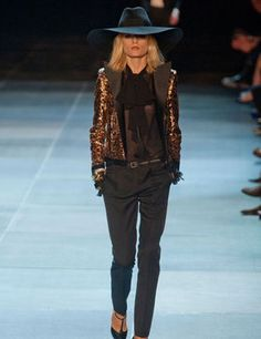 hedi slimane saint laurent collection - Google Search