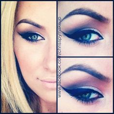 Winged Eyeliner Tutorials - Never Ask A Girl With Winged Eyeliner Why She's Late- Easy Step By Step Tutorials For Beginners and Hacks Using Tape and a Spoon, Liquid Liner, Thing Pencil Tricks and Awesome Guides for Hooded Eyes - Short Video Tutorial for Perfect Simple Dramatic Looks - thegoddess.com/winged-eyeliner-tutorials