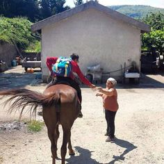 Italy. I would love to preach the good news by horseback.