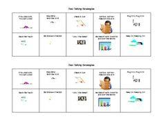 Test Taking Strategy cards - Melissa Giageos - TeachersPayTeachers.com