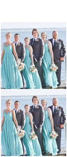 f62bdca96 17 Best tiffany blue bridesmaid dresses images | Wedding bridesmaids ...