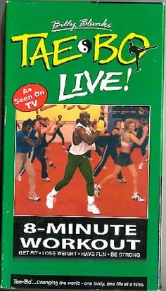 For men and women at all fitness levels. A short, energetic, total body exercise wor 8 Minute Workout, Tae Bo, Lose Weight, Weight Loss, Fast Workouts, Arnold Schwarzenegger, Total Body, Aerobics, Kickboxing