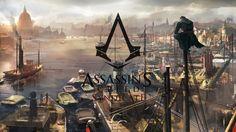 Download Assassins Creed Syndicate Logo Wallpaper Game Art 2560x1440