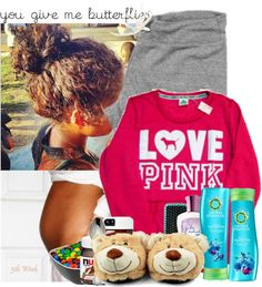 """Bored"" by chenelleedwards ❤ liked on Polyvore"