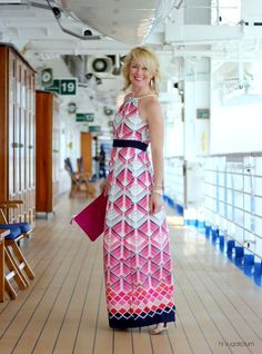 Hi Sugarplum   This dress is a great outfit for cruise formal nights!