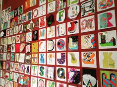 Type Tasting  Amazing Typographic Time Machine wall at at the end of the wkend. Can you see your letter? London Design Festival, Typography, Lettering, The V&a, Victoria And Albert Museum, Workshop, Holiday Decor, Amazing, Instagram Posts