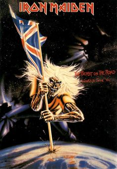 Iron Maiden - The best on the road World Tour,1982.