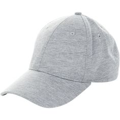 New Look Pale Grey Baseball Cap ($12) ❤ liked on Polyvore featuring accessories, hats, pale grey, ball caps, baseball cap, baseball caps hats, baseball hat and ball cap hats