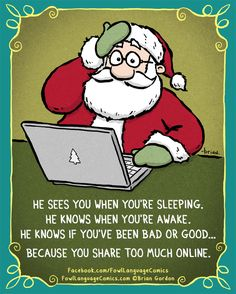 Santa online - | Comics | The Daily Dot