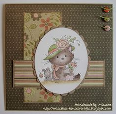 Card with freebie Wee Stamps - Misseke's House of Crafts