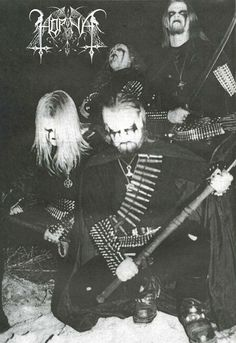 Horna. Finland: as always producing great extreme metal bands.