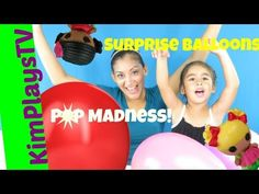 Popping Balloon Surprise Madness  Lalaloopsy toys in 10 Nerve Racking Ba...