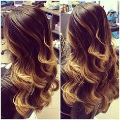Ombre Waves ♥