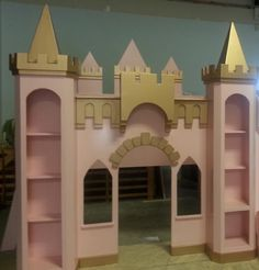NEW CUSTOM PRINCESS NATALIE CASTLE BED/INDOOR PLAYHOUSE FREE SHIPPING  | eBay