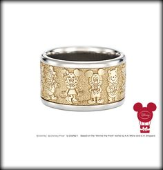 Mickey Ring, I'm not a gold fan! but I like the ring besides the gold