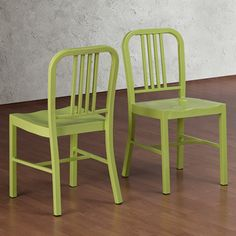 @Overstock.com - Limeade Metal Side Chair (Set of 2) - This set of two stylish metal side chairs feature a limeade finish that will add a colorful punch to any dinner party. Whether you use these for the main seating area, or just keep them around for extras, the simple design is durable and comfortable.  http://www.overstock.com/Home-Garden/Limeade-Metal-Side-Chair-Set-of-2/6751363/product.html?CID=214117 $129.99