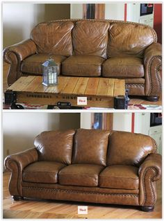 Amazing How To Update An Old, Saggy Couch For Around $40 ... Using Poly