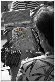 Camariñas #bobbin #lace