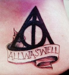 gorgeous.. site of all harry potter tattoos