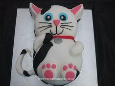 birthday cat cake | Kitty cat cakes
