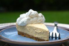<3 Easy Chilled Pumpkin Cheesecake Recipe   No Baking!   Yummm