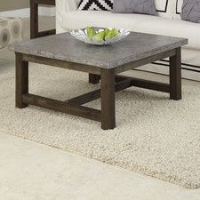 Concrete Chic Coffee Table