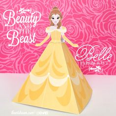 A tale as old as time, well, it's just that... an everlasting classic. Beauty and the Beast is a story generations to come will adore. Belle looks beautiful and she's ready for a dance and Chip is right by her side, your little ones will love making these enchanted papercrafts!