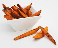 This side-dish recipe boasts a zesty mix of spices that coat the homemade fries. Serve them with burgers for dinner.