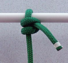 The Buntline Hitch is a very secure, but little known knot. It's history goes back to the age of sail when a knot was needed that would stay tied to the foot of the sails on Square-Rigged Sh…
