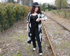 hat, kimono, boohoo