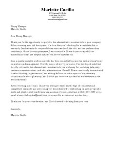 How To Build A Cover Letter Cover Letter Builder  Build A Cover Letter In Minutes With