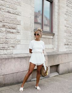 Look girl, fancy dress outfits, white outfits, trendy outfits, clothes for Fancy Dress Outfits, Trendy Outfits, Summer Outfits, Fashion Outfits, Womens Fashion, Fashion Fashion, All White Outfit, White Outfits, New Year Look
