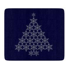 Snowflake Christmas Tree Cutting Board http://www.zazzle.com/snowflake_christmas_tree_cutting_board-256646411679970793?rf=238271513374472230  #christmas  #christmasdécor